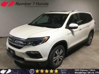 Used 2016 Honda Pilot EX-L| Leather| Backup Cam| DVD| for sale in Woodbridge, ON
