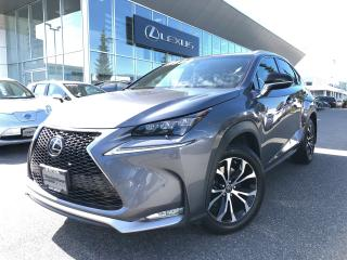 Used 2017 Lexus NX 200t 6A F Sport 3 PKG / ONE Owner / LOW KM for sale in North Vancouver, BC
