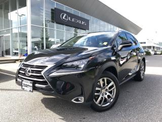 Used 2016 Lexus NX 200t 6A LUX PKG, Local for sale in North Vancouver, BC
