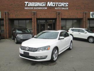 Used 2012 Volkswagen Passat TDI HIGHLINE NO ACCIDENTS NAVIGATION LEATHER SUNROOF BT for sale in Mississauga, ON