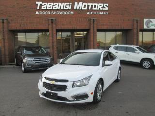 Used 2015 Chevrolet Cruze LT - BIG SCREEN - REAR CAM - REMOTE START - BT for sale in Mississauga, ON