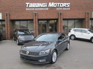 Used 2016 Volkswagen Passat COMFORTLINE LEATHER SUNROOF REAR-CAM HEATED-SEATS BT for sale in Mississauga, ON