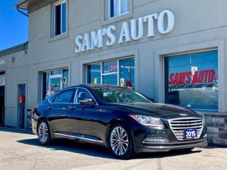 Used 2015 Hyundai Genesis Sedan AWD PREMIUM for sale in Hamilton, ON