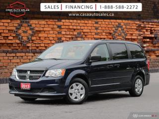 Used 2013 Dodge Grand Caravan 4dr Wgn SE | One Owner | No Accidents | Low KMs | Stow 'N Go for sale in Scarborough, ON