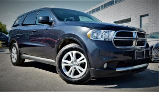 Used 2013 Dodge Durango AWD 4dr SXT 7 Passenger for sale in Brampton, ON