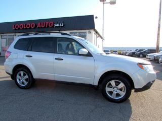 Used 2012 Subaru Forester 2.5X AWD AUTOMATIC BLUETOOTH CERTIFIED for sale in Milton, ON