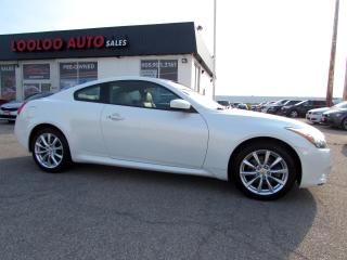 Used 2011 Infiniti G Coupe G37x AWD COUPE NAVIGATION CAMERA CERTIFIED for sale in Milton, ON
