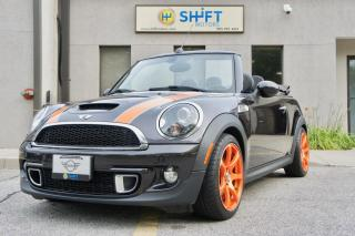 Used 2013 MINI Cooper S HIGHGATE HEATED LOUNGE LEATHER SEATS, HK SOUND for sale in Burlington, ON