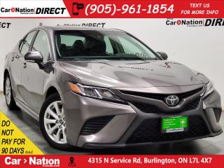 Used 2018 Toyota Camry SE| LEATHER-TRIMMED SEATS| BACK UP CAM| for sale in Burlington, ON