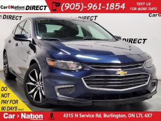 Used 2018 Chevrolet Malibu LT| NAVI| LEATHER| PANO ROOF| for sale in Burlington, ON