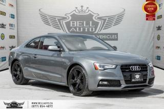 Used 2015 Audi A5 Progressiv, COUPE, S-LINE, AWD, NAVI, BACK-UP CAM, SUNROOF for sale in Toronto, ON