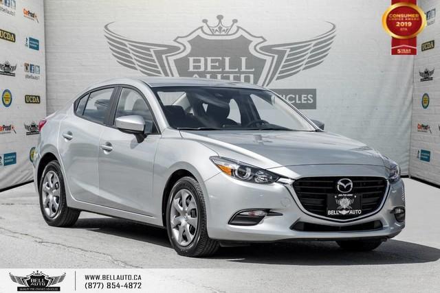 2018 Mazda MAZDA3 GX, BACK-UP CAM, BLUETOOTH, SKYACTIVE, KEYLESS ENTRY