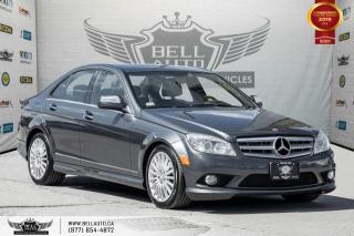Used 2008 Mercedes-Benz C-Class 2.5L, AWD, HEATED SEATS, BLUETOOTH, PWR SEATS for sale in Toronto, ON