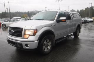 Used 2014 Ford F-150 FX4 SuperCab 6.5-ft. Bed 4WD EcoBoost with Canopy and Power Inverter for sale in Burnaby, BC