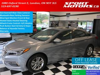 Used 2016 Hyundai Sonata GLS+Camera+Roof+Sensors+Heated Seats+Blind Spot for sale in London, ON