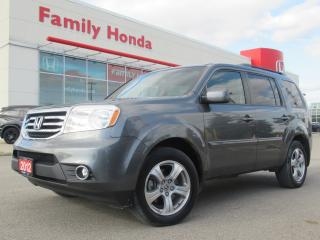 Used 2012 Honda Pilot EX-L | SUNROOF | REVERSE CAM for sale in Brampton, ON
