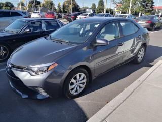 Used 2015 Toyota Corolla 4-door Sedan LE CVTi-S LOW MILEAGE, CHEAPEST ONE for sale in Ottawa, ON