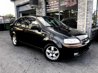 Used 2006 Chevrolet Aveo Berline 4 portes LT A/C for sale in Longueuil, QC