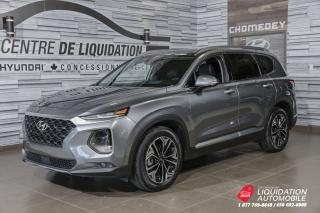 Used 2019 Hyundai Santa Fe Ultimate TAUX BRILLANT 3.85% for sale in Laval, QC
