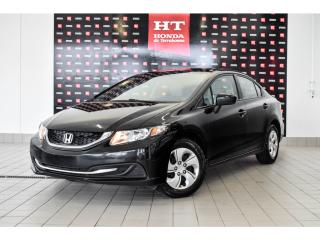 Used 2015 Honda Civic LX bas kilo certifié for sale in Terrebonne, QC
