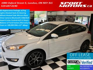 Used 2015 Ford Focus SE w/Appearance+Camera+Bluetooth+Heated Steering+ for sale in London, ON
