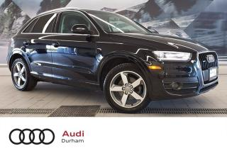 Used 2015 Audi Q3 2.0T Progressiv + Rear Sensors   Pano Roof   AWD for sale in Whitby, ON