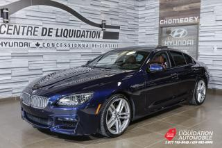 Used 2015 BMW 6 Series M PKG, NAVI, BACK-UP, SUNROOF, PUSH for sale in Laval, QC