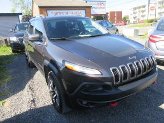 Used 2015 Jeep Cherokee 2015 Jeep Cherokee - 4WD 4dr Trailhawk for sale in Beauport, QC