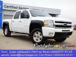 Used 2010 Chevrolet Silverado 1500 Lthr. Buckets S/R for sale in Carlyle, SK