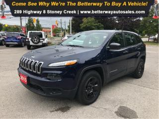 Used 2015 Jeep Cherokee Sport| 4x4| Bluetooth| Pwr seat for sale in Stoney Creek, ON