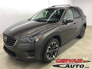 Used 2016 Mazda CX-5 GT AWD GPS MAGS CUIR TOIT CAMÉRA DE RECUL SIÈGES CHAUFFANTS for sale in Trois-Rivières, QC