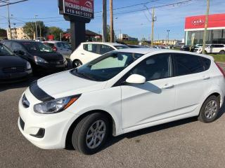 Used 2013 Hyundai Accent GL HATCBACK for sale in Beauport, QC