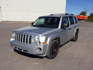 Used 2008 Jeep Patriot 4 RM, 4 portes, Sport for sale in Quebec, QC