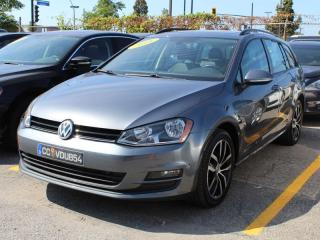 Used 2016 Volkswagen Golf Sportwagen COMFORTLINE, AUTOMATIQUE, TOIT PANO, GPS, MAGS 17 for sale in Lasalle, QC