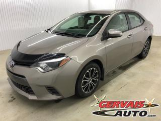 Used 2015 Toyota Corolla LE MAGS CAMÉRA DE RECUL SIÈGES CHAUFFANTS for sale in Shawinigan, QC