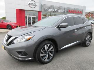 Used 2017 Nissan Murano Platinum AWD for sale in Peterborough, ON