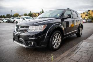 Used 2018 Dodge Journey GT 3.6L Pentastar VVT V6 engine, Uconnect 3 with 8.4–inch display, Heated Seats, Heated Steering Wheel for sale in Okotoks, AB
