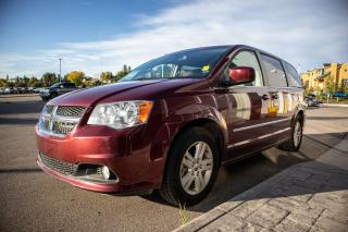 Used 2017 Dodge Grand Caravan Crew Stow 'n Go seats  Super console  A/C with tri-zone automatic temperature control  Rear air condition for sale in Okotoks, AB