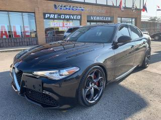 Used 2017 Alfa Romeo Giulia 2017 Alfa Romeo Giulia - 4dr Sdn Ti AWD SPORT for sale in North York, ON