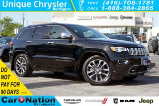 Used 2017 Jeep Grand Cherokee OVERLAND| 5.7HEMI| QUADRA LIFT| ACTIVE SAFETY GRP for sale in Burlington, ON