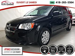 Used 2017 Dodge Grand Caravan CVP* GROUPE ELECTRIQUE* A/C* BIZONE* for sale in Québec, QC