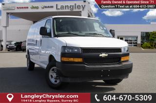 Used 2019 Chevrolet Express 2500 Work Van *LONG WHEEL BASE * *REAR WINDOW* for sale in Surrey, BC