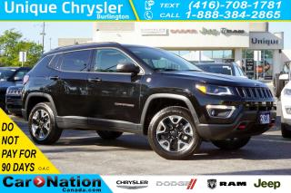 Used 2018 Jeep Compass TRAILHAWK| LEATHER| BEATS | TOW GRP| NAV & MORE for sale in Burlington, ON