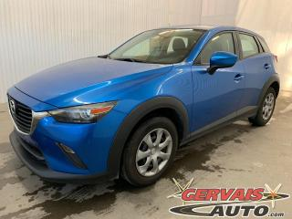 Used 2017 Mazda CX-3 GX GPS Caméra de recul Bluetooth A/C for sale in Shawinigan, QC