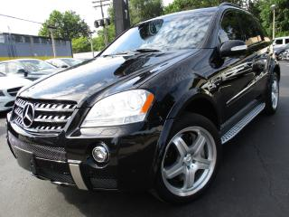 Used 2008 Mercedes-Benz ML-Class ML63 AMG 6.3L | ONE OWNER | 114,000KM | NAVI !! for sale in Burlington, ON