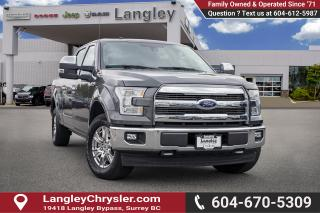 Used 2017 Ford F-150 Lariat Sunroof- Power Side Steps - Bluetooth -   A/C for sale in Surrey, BC
