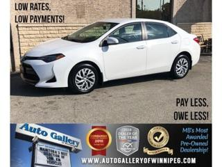 Used 2018 Toyota Corolla LE *B.tooth/Back.Cam/Htd Seats for sale in Winnipeg, MB