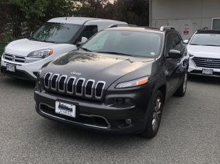 Used 2014 Jeep Cherokee Limited ACCIDENT FREE & ONE OWNER for sale in Abbotsford, BC