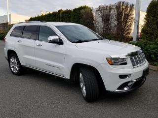Used 2014 Jeep Grand Cherokee Summit ACCIDENT FREE for sale in Abbotsford, BC