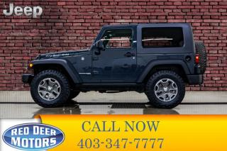 Used 2018 Jeep Wrangler JK 4x4 Rubicon Manual Nav for sale in Red Deer, AB
